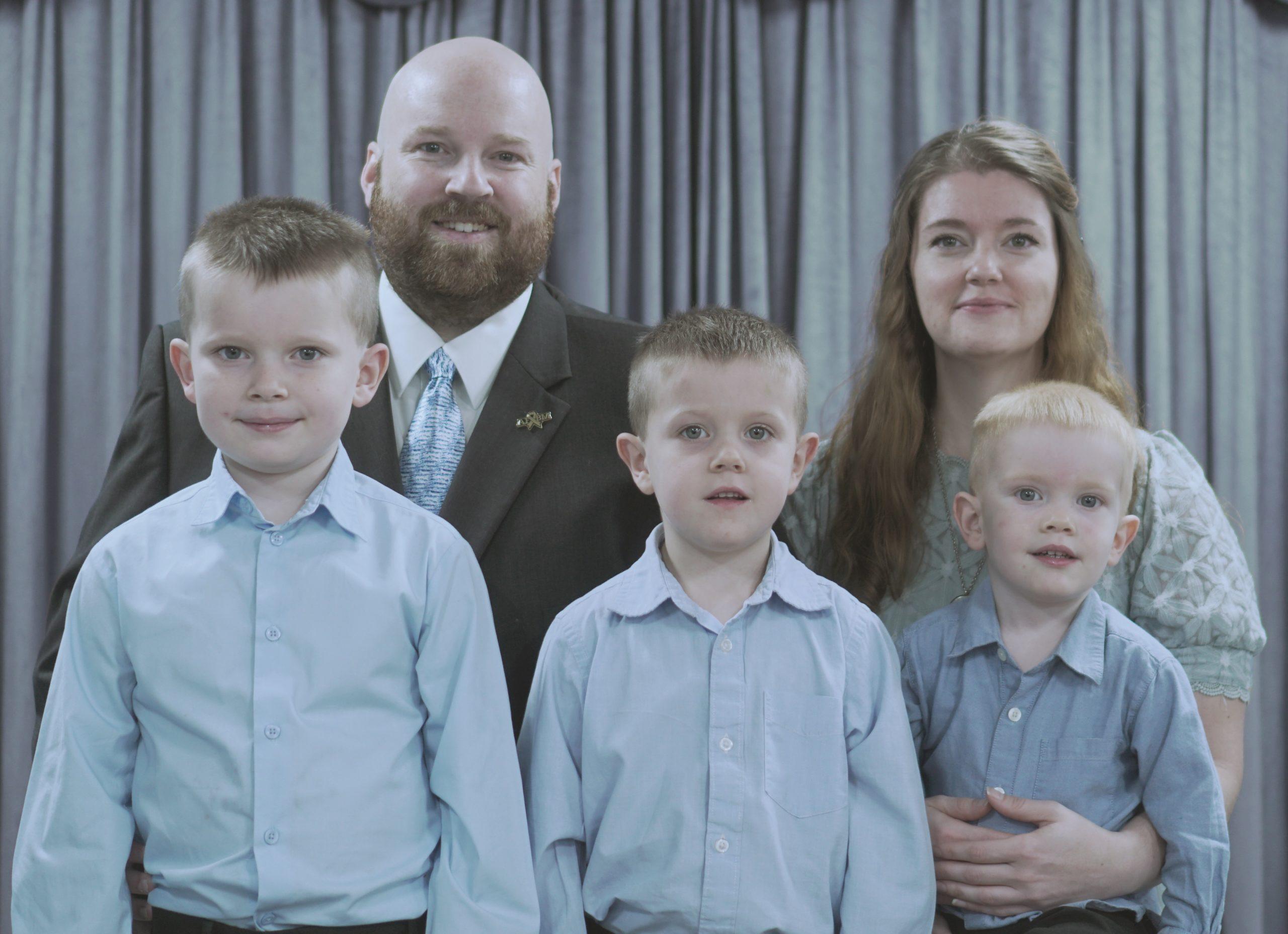 Drew Mahaney Family